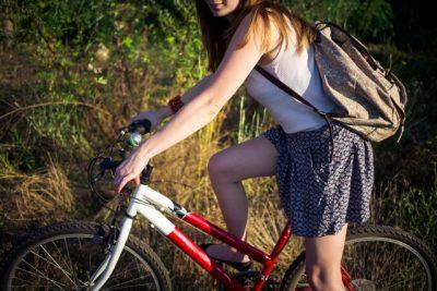 ペット 川遊び 自転車 リュック 持ち物
