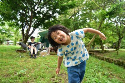 白馬 川遊び 子供 キャンプ