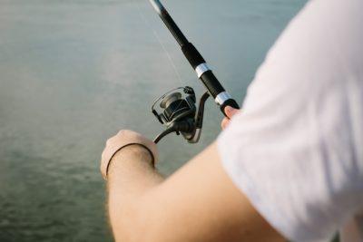 川遊び 釣り 釣り竿