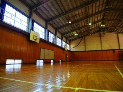 神戸 川遊び 体育館 バスケット リング