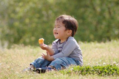 虫取り 子供 効果 笑顔 男の子