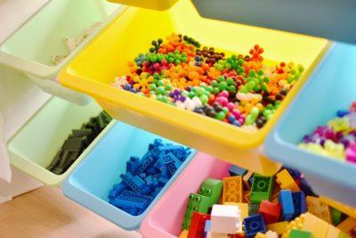 子供 おもちゃ 収納 ブロック