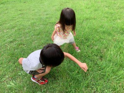 道志川 川遊び スポット 遊ぶ 兄妹