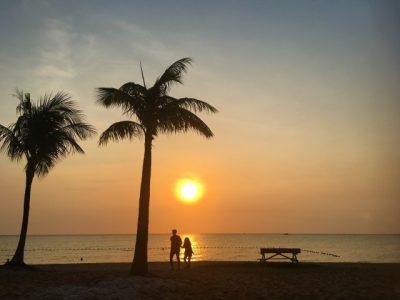 夏休み 旅行 子供 沖縄 海