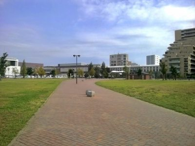 レイク タウン 水遊び 広場 公園