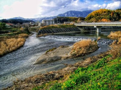 兵庫 川遊び 川の合流地点