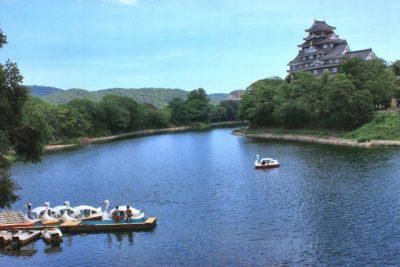 川遊び 岡山城 ボート