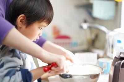 家庭科 料理 レポート 親子 パンケーキ