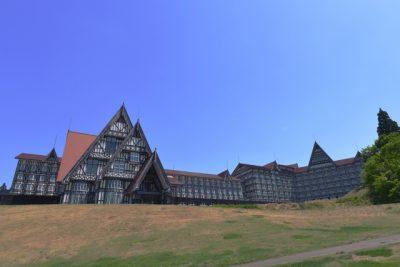 ホテル グリーン プラザ 上越 川遊び 外観
