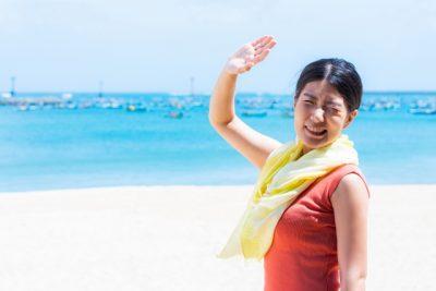 栃木 川遊び 穴場 まぶしい 女性