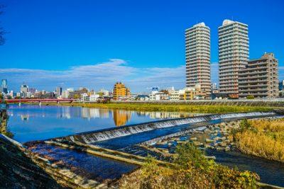 川遊び スポット 宮城 ビル