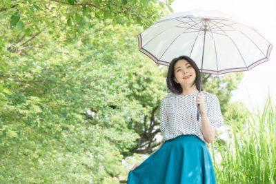栃木 川遊び 穴場 女性 日傘
