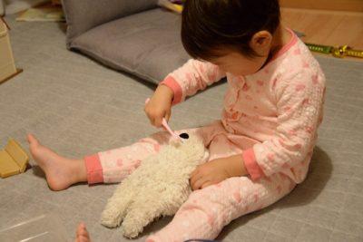 子供 おもちゃ 人形 遊び 歯磨き