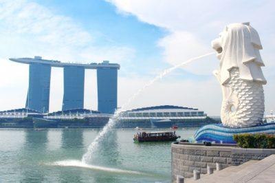 水遊び場 シンガポール マーライオン