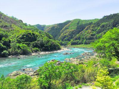 川遊び 飛び込み 四国 吉野川