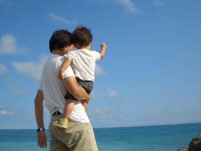 夏休み 子供 体験 親子 海 だっこ