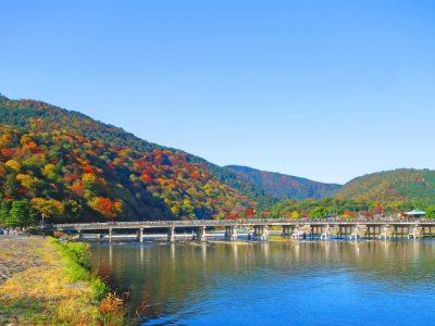 京都 川遊び 嵐山 綺麗 川