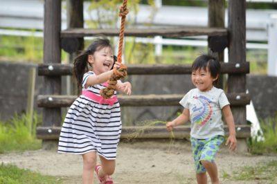 横浜駅 子供 公園 姉弟