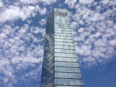 千葉 水遊び ポートタワー 雲
