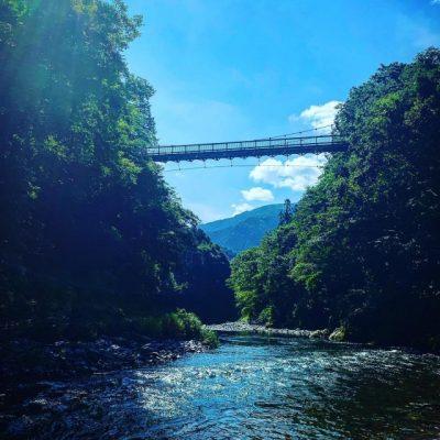 群馬県 水遊び場 橋