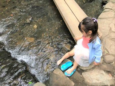 るり渓 川遊び スポット 女の子