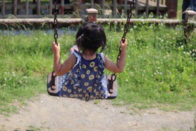 水遊び場 ブランコ 子供